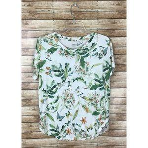 GAP Body Butterfly Botanical T-Shirt